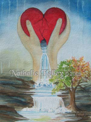 An Undivided Heart Nathalie Kelley Prophetic Art