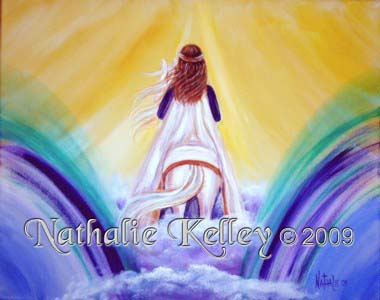 Make Way for the King Nathalie Kelley Prophetic Art