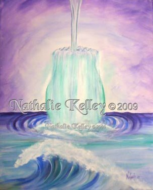 Overflow Nathalie Kelley Prophetic Art