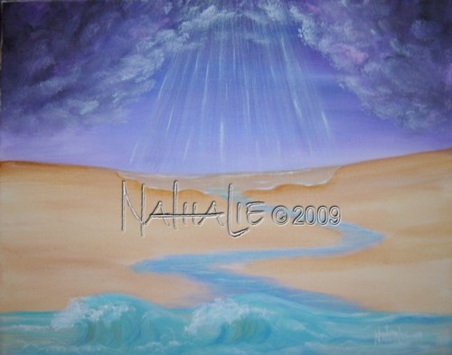 In the Desert Nathalie Kelley Prophetic Art