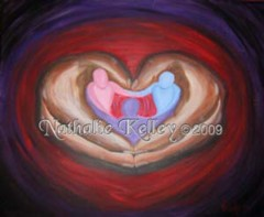 The Father's Heart Nathalie Kelley Prophetic Art