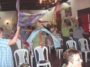 Silk Flags at Guatemala